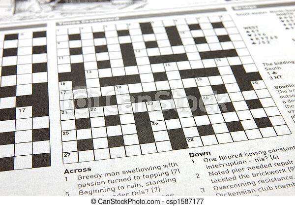 Crossword puzzle - csp1587177