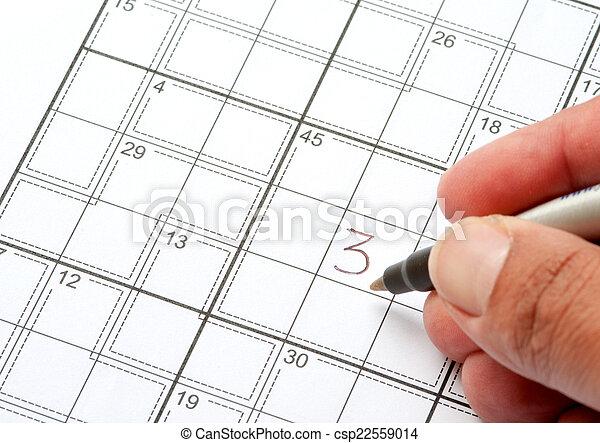 Crossword Puzzle - csp22559014