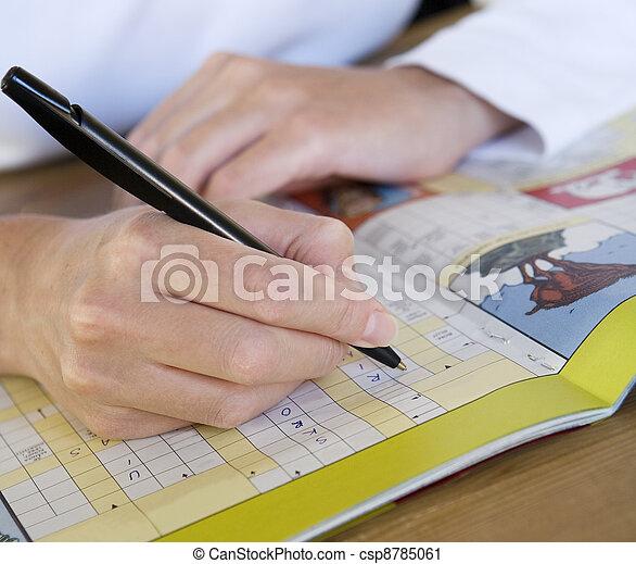Crossword Puzzle - csp8785061