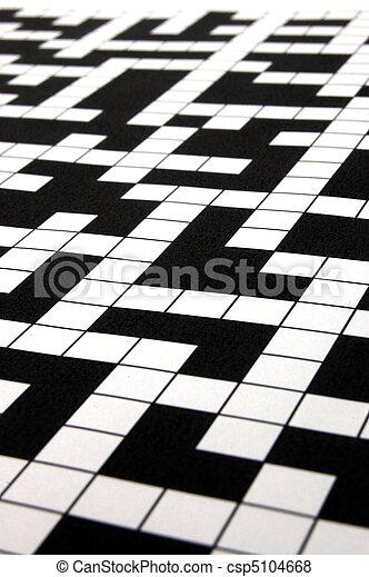 crossword puzzle - csp5104668