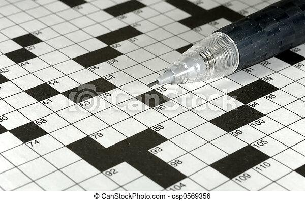 Crossword Puzzle - csp0569356