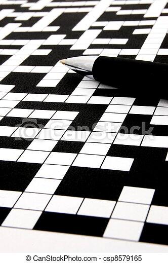 crossword puzzle - csp8579165