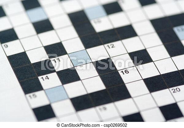 Crossword Puzzle - csp0269502