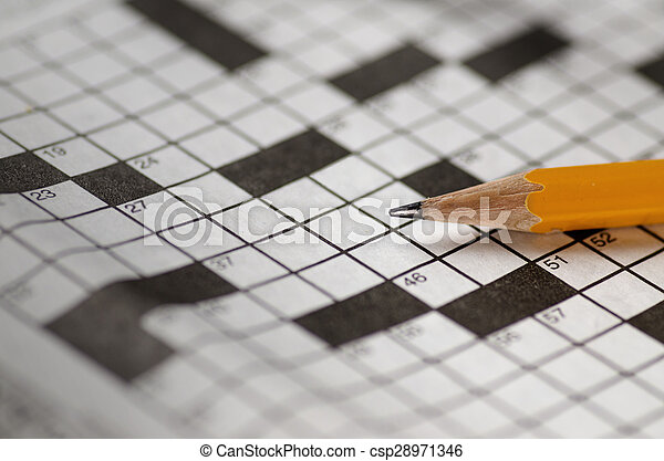 Crossword Puzzle - csp28971346