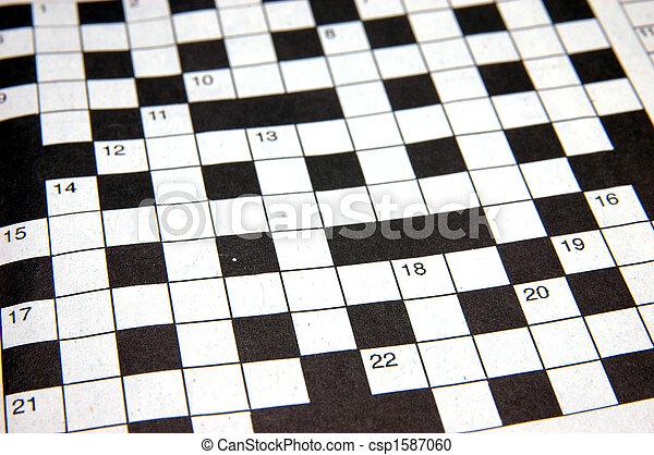 Crossword puzzle - csp1587060