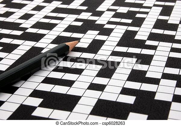 crossword puzzle - csp6028263