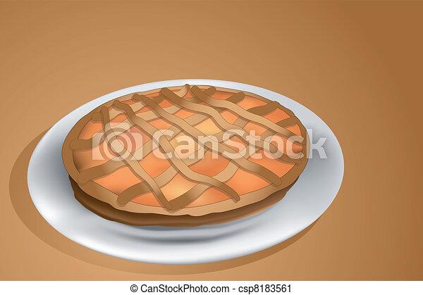 crostata, tarte - csp8183561