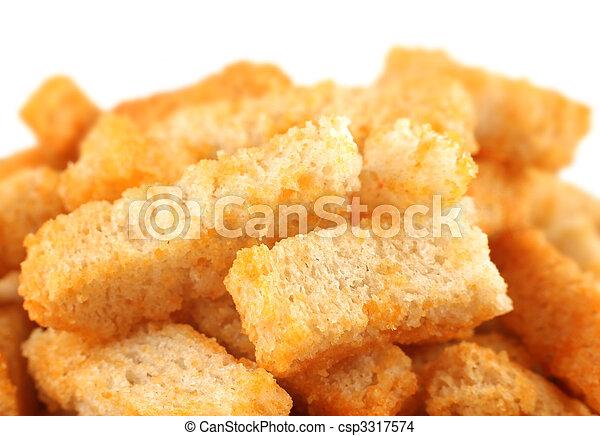 Crouton bread - csp3317574
