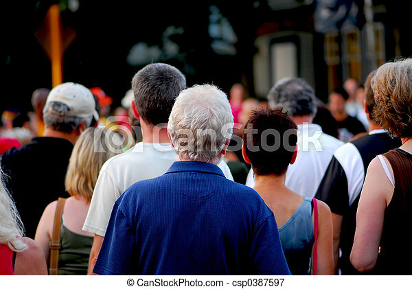 Crowd - csp0387597