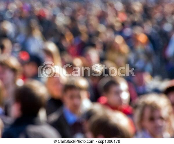 Crowd - csp1806178