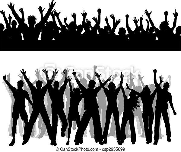Crowd scenes - csp2955699