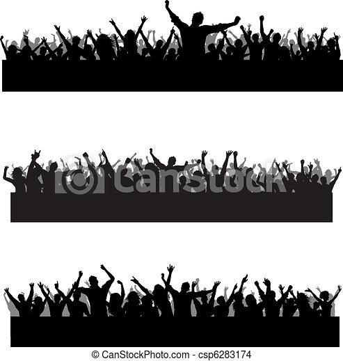 Crowd scenes - csp6283174