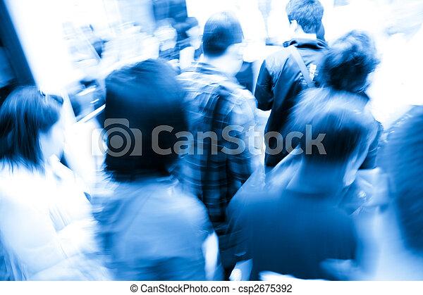 crowd - csp2675392