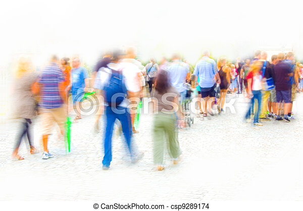 Crowd. - csp9289174