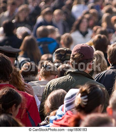 Crowd - csp1806183