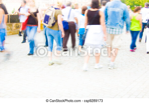 Crowd. - csp9289173