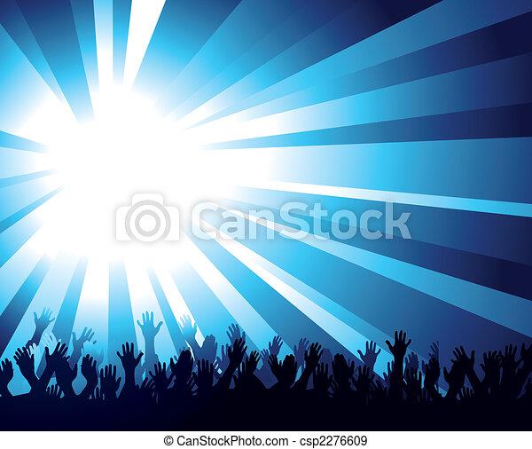 crowd - csp2276609