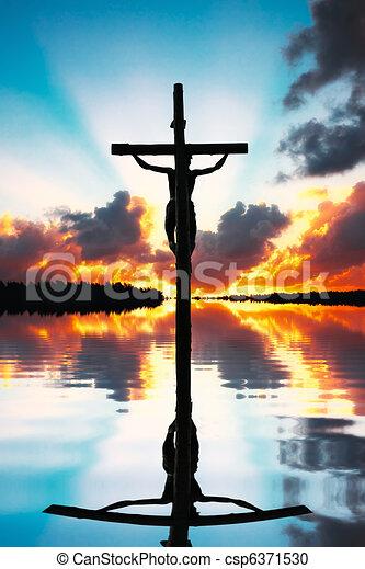 Crucifixion of Jesus Christ - csp6371530