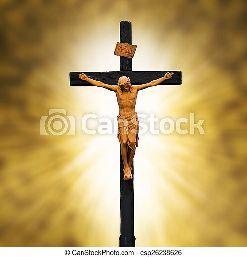 Jesus Crucified On The Crossucifixion Christianity Symbol
