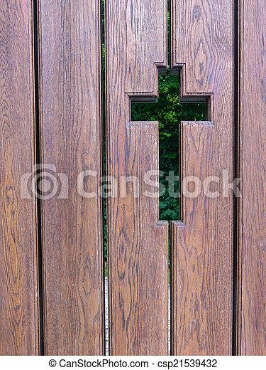 crucifixos, esboço - csp21539432