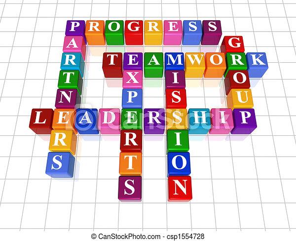 Crucigrama 21, liderazgo - csp1554728