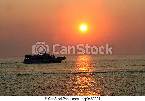 Cruise At Dusk 2 - csp0462224