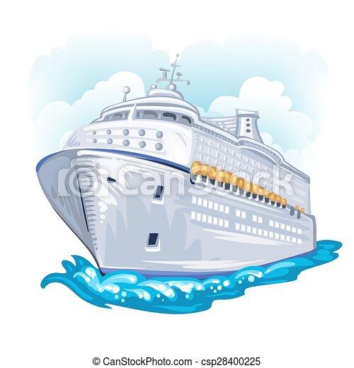 Cruise liner - csp28400225