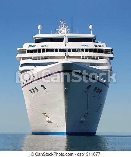 cruise ship bow - csp1311677