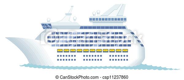 Cruise Ship - csp11237860