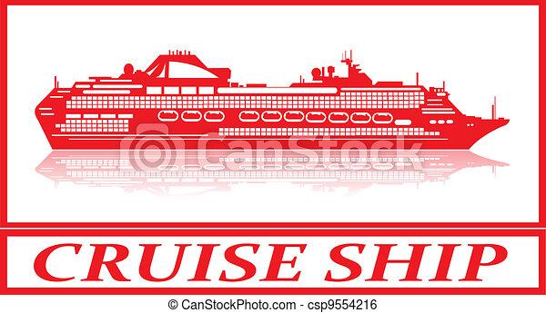 Cruise ship. - csp9554216