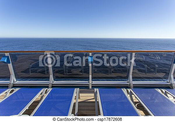 cruise ship deck - csp17872608