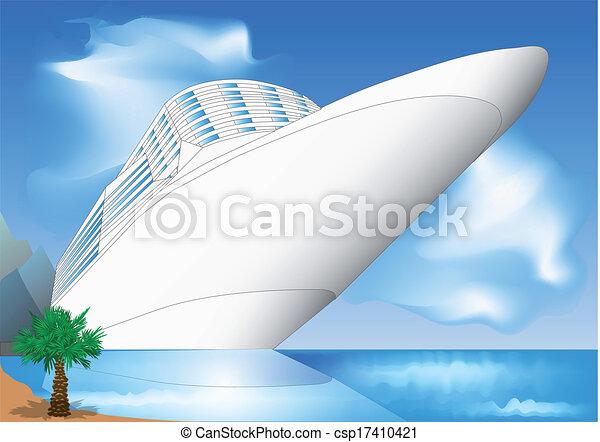cruise ship - csp17410421