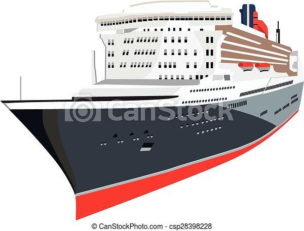 cruise ship - csp28398228