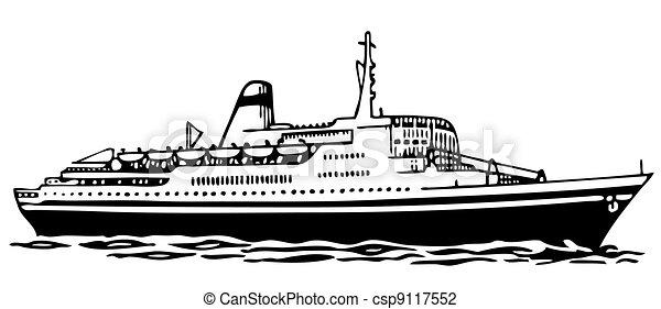 Cruise ship - csp9117552