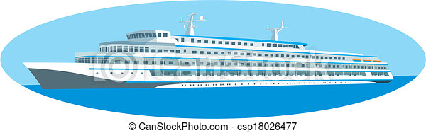 Cruise ship - csp18026477