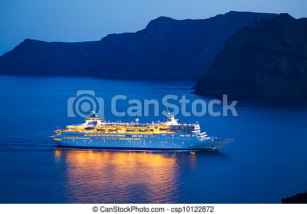 Cruise Ship - csp10122872
