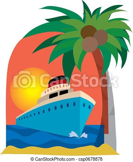 Cruise ship - csp0678878