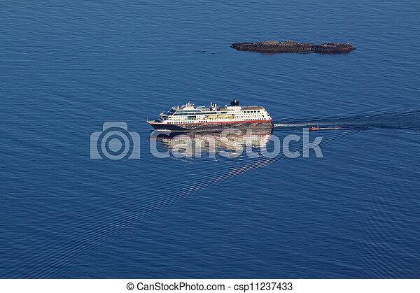 Cruise ship - csp11237433