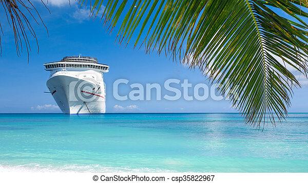 Cruise ship vacations - csp35822967