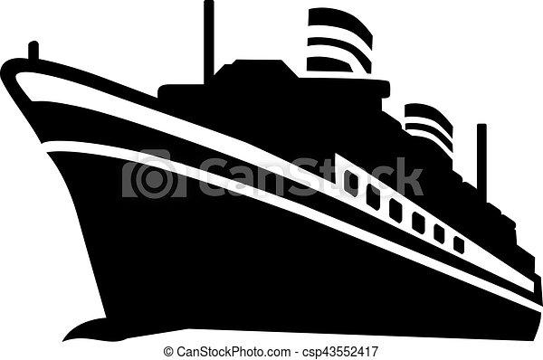 Cruise Ship - csp43552417