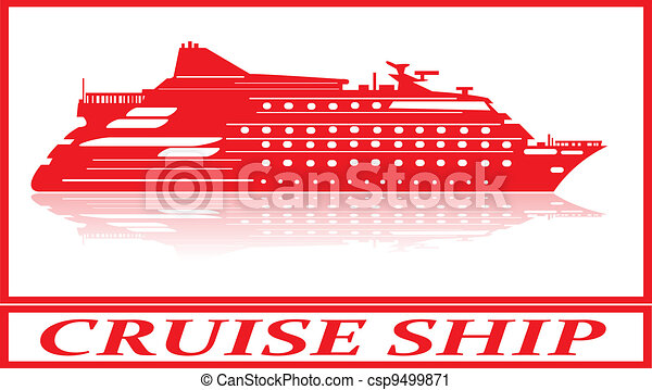 Cruise ship. - csp9499871