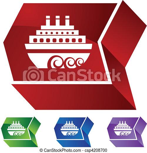 Cruise Ship - csp4208700