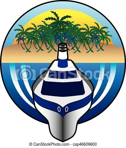 Cruise Ship - csp46609600