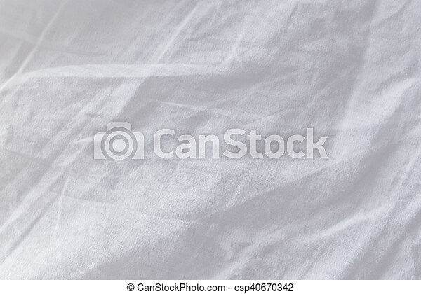 white bed sheets texture. Crumpled Bed Sheets Texture As Background - Csp40670342 White T