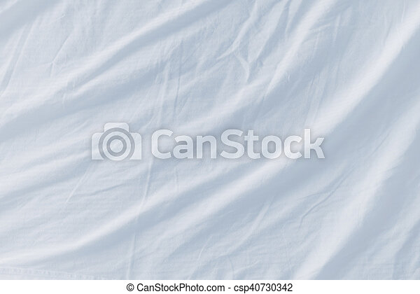 white bed sheets texture. Crumpled Bed Sheets Texture As Background - Csp40730342 White R