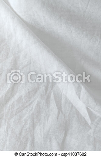 Charmant Crumpled Bedding Texture, Top View   Csp41037602