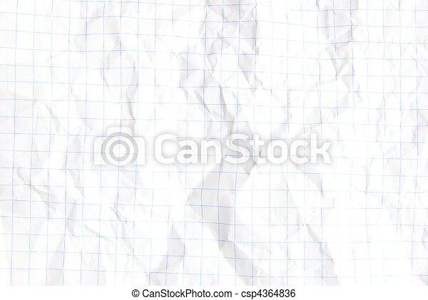 crumpled paper - csp4364836