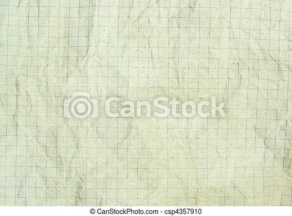 crumpled paper - csp4357910