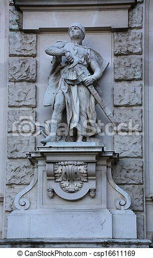 Crusader Staute Neue Burg - csp16611169