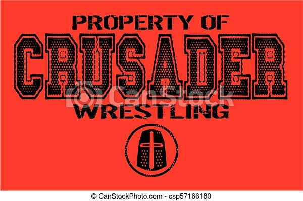 crusader wrestling - csp57166180
